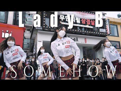 201114 레이디비 Lady B 'Somehow 왠지' @ 홍대버스킹 4K 60P 직캠