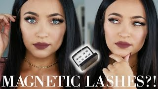 Magnetic Eyelashes add Glamour