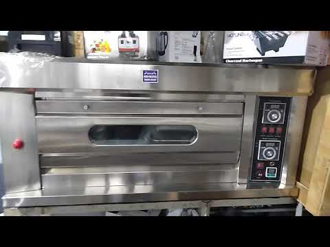 Gas 1 Deck 2 Tray deck Oven