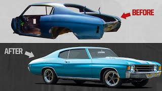 1,000 HP COMPLETE CHEVELLE BUILD IN MINUTES!