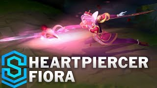 Heartpiercer Fiora Skin Spotlight - Pre-Release - League of Legends