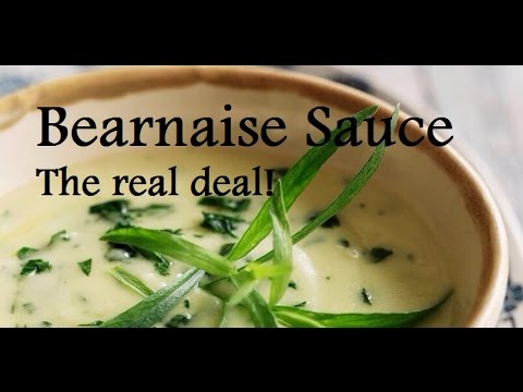Authentic Bearnaise Sauce – Bearnaise tutorial – Step by Step French Recipe