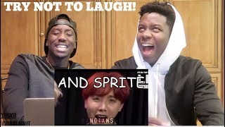 Namjoon being done with BTS' english (HILARIOUS REACTION)