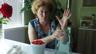 САМЫЙ  ПРОСТОЙ рецепт домашнего вина из малины --проверено-вкусно!!!