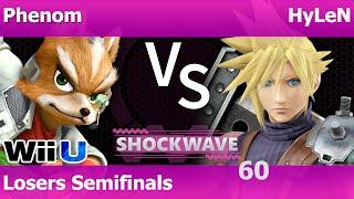SW 60 Smash 4 - Phenom (Fox) vs HyLeN (Cloud) - Losers Semifinals