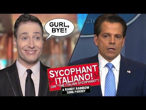 THE SYCOPHANT ITALIANO 👋�?�🇮🇹 - Randy Rainbow Song Parody
