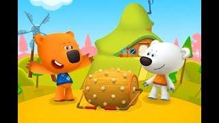 Ми-Ми-Мишки. Мультфильм - Игра. Грибы и листья - Развивающее Видео для детей