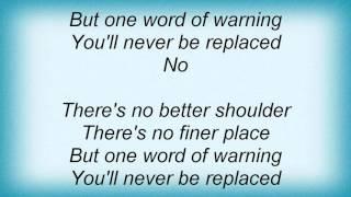 Kt Tunstall - No Better Shoulder Lyrics
