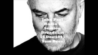 """John Peel - Radio 1 Session 14 Dec 1991 - Sam Dees performing """"One In A Million"""" live  2 more"""