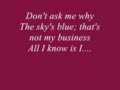 Beyonce- That's Why You're Beautiful (Lyrics On Screen)