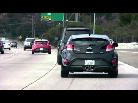Hyundai Veloster Turbo, On The Road