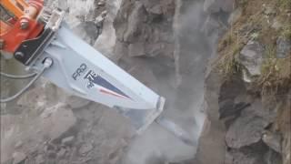 Nouveau marteau brise roche sans tirant FXj275 FURUKAWA