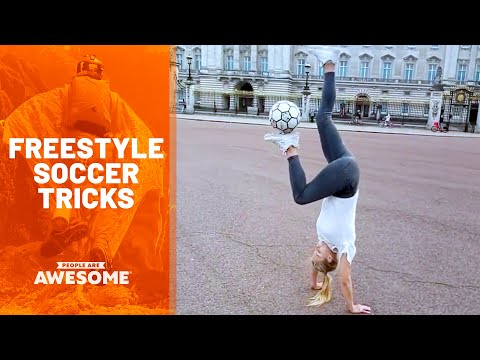 Video Compilation of Soccer Moves Around the World