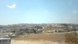 preview picture of video 'Amman, Jordan, 10th-September-2013: Shafa Badran district around Applied Science University'