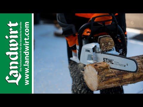 Brennholz richtig schneiden   landwirt.com