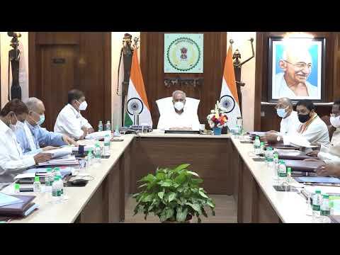 मुख्यमंत्री की अध्यक्षता में आज यहां उनके निवास कार्यालय में कैबिनेट की बैठक आयोजित की गई : 20-07-2021