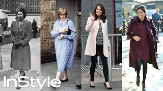 Royal Maternity Style Through The Years   British Royals   InStyle