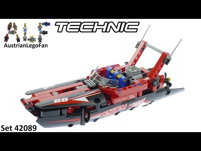 Lego Technic 42089 Power Boat - Lego 42089 Speed Build
