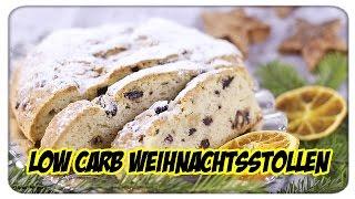 Weihnachtenbäckerei - Low Carb Stollen (Backexperiment)