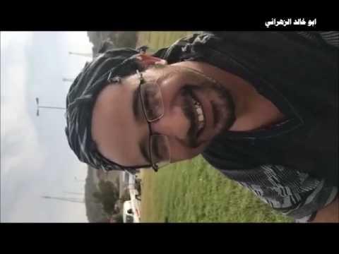 طاقم مسلسل عيد وسعيد في احد منتزهات المندق ( تصوير ابوعيدات )