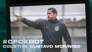 Coletiva Gustavo Morínigo - Coritiba 0 x 1 Botafogo