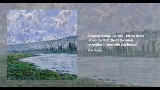 2 Sacred Songs, Op.105