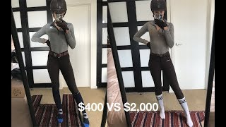 $400 Riding Outfit VS $2,000 Riding Outfit