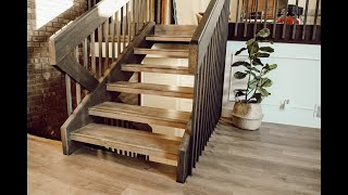 How To Install Laminate Flooring On Floating Stairs