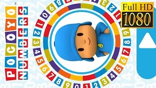 Pocoyo Numbers 1, 2, 3 Game Review 1080P Official Zinkia Sa Educational