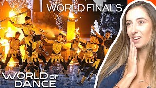 The Kings' Final Routine   World Of Dance World Finals 2019 | REACTION
