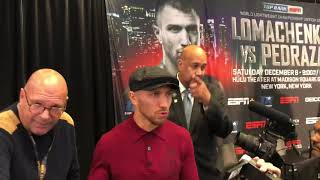 LOMACHENKO WANTS TANK OR MIKEY GARCIA IN THE FUTURE