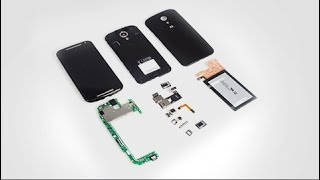 Complete disassemble Moto G2 in 3 minutes – Teardown Manual