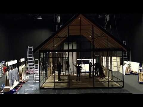 FIND 2018 // Time lapse of the stage set up of »Ibsen Huis«