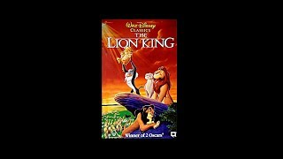 Digitized Closing To The Lion King (1995 UK VHS)