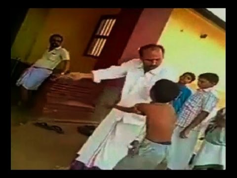 Viral Video: Footage shows teacher beating a boy mercilessly