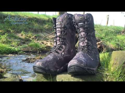 Schuhe zum Angeln Outdoorboots Angelschuhe - Almwalker Outdoorboots Deep Forest Hi