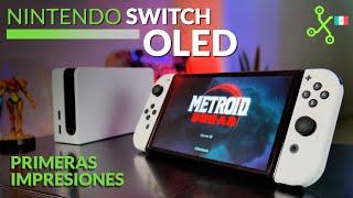 Nintendo Switch OLED llega a México, UNBOXING, primeras impresiones y PRECIO oficial