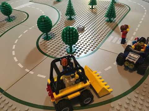 Our very first LEGO stop motion project