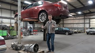 My Cheap Broken BMW M5 and DeLorean Might Not Be a Total Disaster