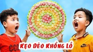 Cây Kẹo Dẻo Khổng Lồ - Món Quà Cho Bé ♥ Min Min TV Minh Khoa