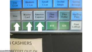Cashier Training
