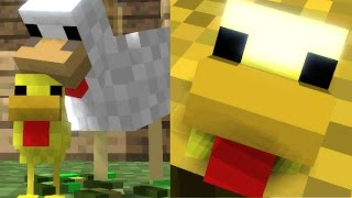 Chicken Life   Minecraft Animation