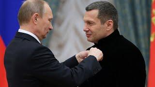 Соловьев попросил Путина быть более жестким сроссиянами
