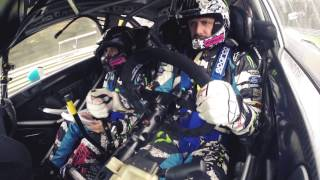 preview picture of video 'Valentino Rossi & Ken Block take on the world famous Monza Rally'