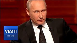 """President Putin is Adamant: """"You Are Crazy If You Think I Will Ever Surrender Crimea"""""""