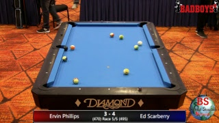 2019 MICHIGAN BCAPL STATE CHAMPIONSHIPS  8 Ball Final Gold Ervin Phillips VS Ed Scarberry