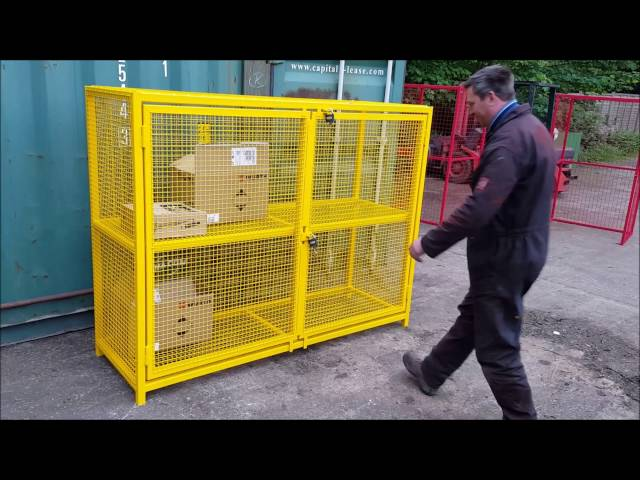Compact Security Cage Range