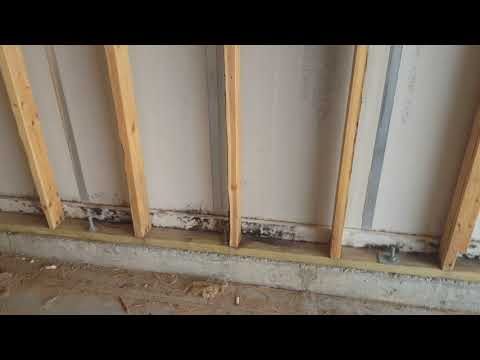 A homeowner in Brick, NJ noticed black mold growth in his garage and wanted Mold Solutions by Cowleys to remove it.