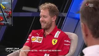 Sport und Talk im Hangar-7: Sebastian Vettel spricht Klartext über seine Zukunft