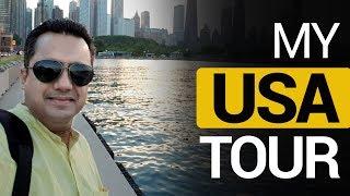 My USA Tour | Chicago | New York | New Jersey | Dr Vivek Bindra